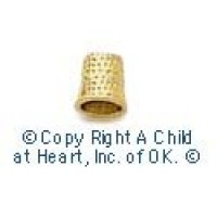 (§) Sale - Dollhouse Miniature Thimble (Sewing) - Product Image
