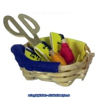 Dollhouse Thread Basket - Product Image