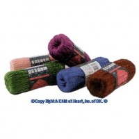 (**) 5 Dollhouse Skeins of Yarn - Product Image