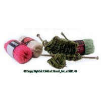 (**) Dollhouse Knitting in Progress - Product Image