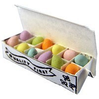 Dollhouse Filled Easter Eggs Carton - Product Image