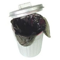 § Sale .50¢ Off - Dollhouse Trash Can with Liner - Product Image