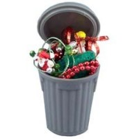 (**) Dollhouse Christmas Trash - Product Image