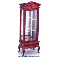 Dollhouse Queen Anne Curio Cabinet - Product Image