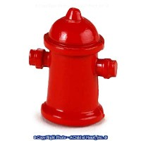 Small Dollhouse Fire Hydrant - Product Image