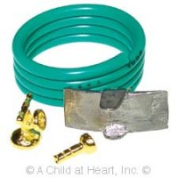 (**) Dollhouse Water Hose & Wall Bracket - Product Image
