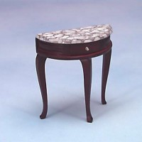 § Disc $3 Off - Dollhouse Console Table with Marble - Product Image