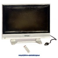 Sale $4 Off - Large Widescreen T.V. w/ Remote - Product Image
