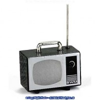 § Sale .80¢ Off - Portable TV with Antenna - Product Image