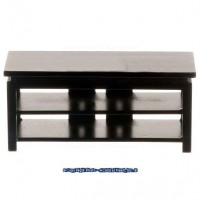 Dollhouse Wood T.V. Stand - Product Image