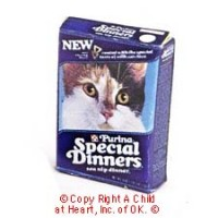 § Disc .50¢ Off - Special Dinners Cat Food Box - Product Image