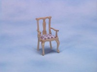(**) Disc $1 Off Pine Queen Anne Dining Chair - Product Image