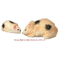 Dollhouse Momma & Baby Hamster - Product Image