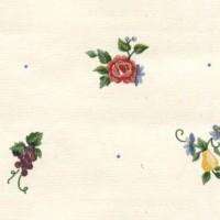 § Disc $3 Off - 3 Shts Fruit & Flowers Paper - Product Image