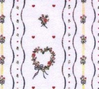 (§) Sale $1 Off - 2 Shts Lovely Stripe Paper - Product Image