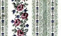 (§) Disc $1 Off - 2 Shts Green Lace Panels Paper - Product Image