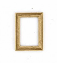 2 Small Dollhouse Wooden Frames - Product Image