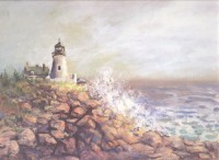§ Sale .70¢ Off - Dollhouse Seascape Mural - Product Image