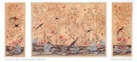 § Sale .70¢ Off - Dollhouse Chinoiserie Panels - Product Image