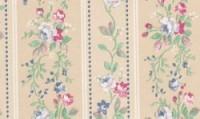(§) Disc $2 Off - 3 Shts Rose Floral Stripe Paper - Product Image
