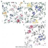 § Disc $3 Off - 3 Shts Floral Paper - Product Image