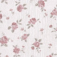 § Disc $3 Off - 3 Shts Embossed Rose Paper - Product Image