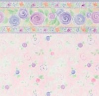§ Sale $3 Off - 3 Shts Passion Flower Paper - Product Image