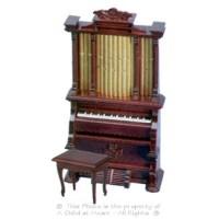 § Disc $15 Off - Mahogany Pipe Organ - Product Image