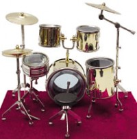 Dollhouse Complete Drum Set - Product Image