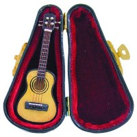 Dollhouse Acoustic Guitar with Case - Product Image