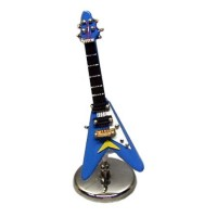 Sale $1 off - Modern Electric Guitar with Stand- Choice of Color - - Product Image