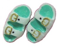 (§) Sale .30¢ Off - Dollhouse Birkenstocks Sandals - Product Image