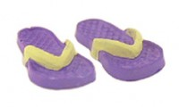 (§) Sale .30¢ Off - Dollhouse Adult's Flip Flops - Product Image