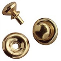 Dollhouse 6 Traditional Door Knobs- Choice Finish - - Product Image