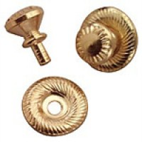 Dollhouse 4 pack Victorian Door Knobs - Product Image