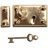 Dollhouse Box Lock & Key - Product Image