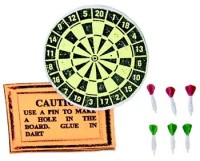 Dollhouse 8 pc Dart Board Set - Product Image