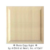 Dollhouse 1 pc Wainscot Panel - (1) Raised Panel - Product Image
