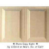 § Sale .50¢ Off - 1 pc Wainscot Panels - (2) Raised Panels - Product Image