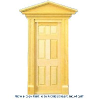 Hooded Victorian Door - Product Image