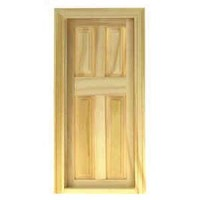 § Disc $1 Off - Dollhouse 4 Panel Door w/ Frame - Product Image