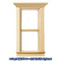 Traditional Dollhouse Window - Product Image