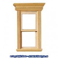 Yorktown Double Hung Dollhouse Window - Product Image