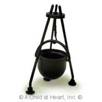 § Sale .50¢ Off - Cauldron with Stand - Product Image