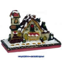 (*) Dollhouse Gingerbread House - Product Image