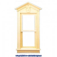 Fancy Victorian Non Working Window - Product Image