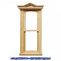 Dollhouse Victorian Slim Working Window - Product Image