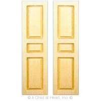 (**) 2 pc - Three Panel Shutters - Product Image