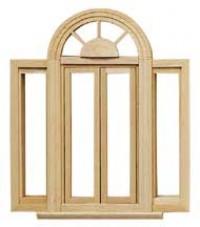 Circlehead Double Casement Window - Product Image