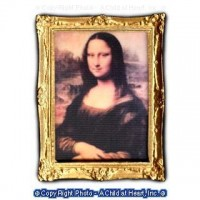 § Sale $2 Off - Framed Picture - The Mona Lisa - Product Image